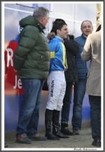 Bremer Galopprennen Mit Shetty 300318 Jockey Maxim Pecheur IMG 0651