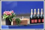 Bremer Galopprennen Mit Shetty 300318 Siegertreppchen Mit Piper Heidsieck Brut Champagner IMG 0499