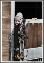 Bremer Galopprennen Mit Shetty 300318 Vorbereitung Sonja Mit Toni IMG 0541